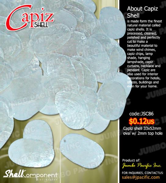 Capiz Shell Components D
