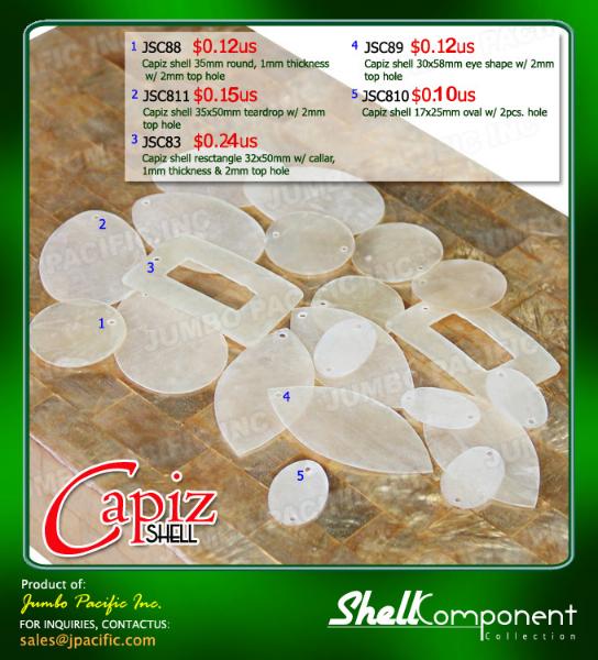 Capiz Shell Components A