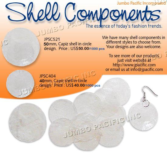 Capiz Shell Components E