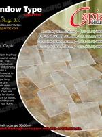 Window Type Capiz Shell Chips