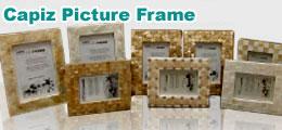 Capiz Picture Frame