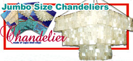 Square Capiz Chandeliers, Capiz Shell Chandeliers, Jumbo Size Capiz Chandelier, Big Capiz Chandeliers