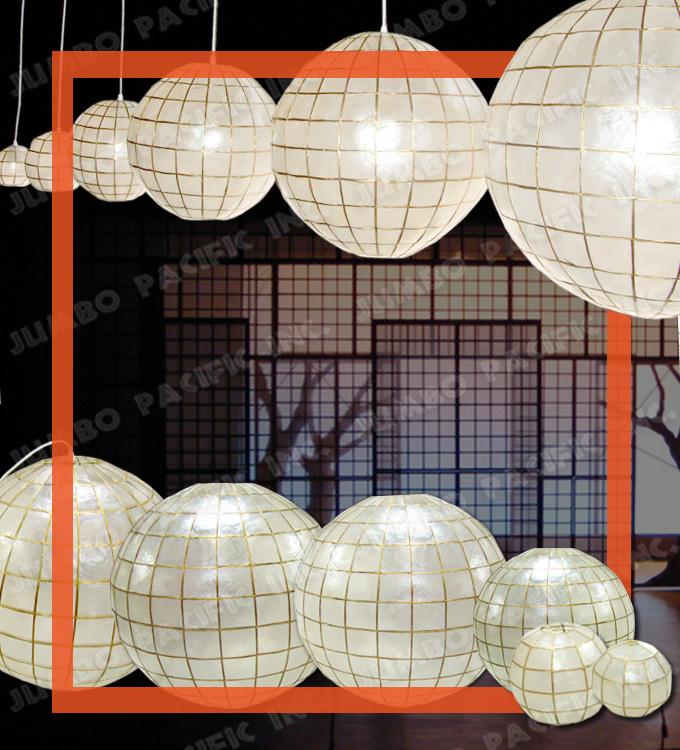capiz globe chandelier lantern - Capiz Shell Chandelier