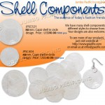 Capiz Shell Components